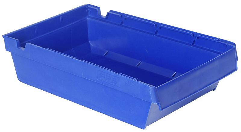 Lagerskuff 400x230x100mm blå