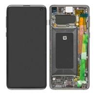 Samsung Galaxy S10 Skjerm - Sort