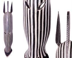 Mask - Zebra 100cm (4 pack)