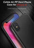 iPhone Xs / X Deksel CAFELE Ultra Thin