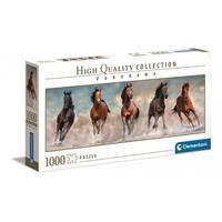 Puslespill Panorama Horses, 1000 brikker