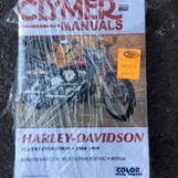 HD Clumer Service Manual / FLH / T -84 - 98 / FXR -84 - 94 / 45 € (ovh. 61 €)