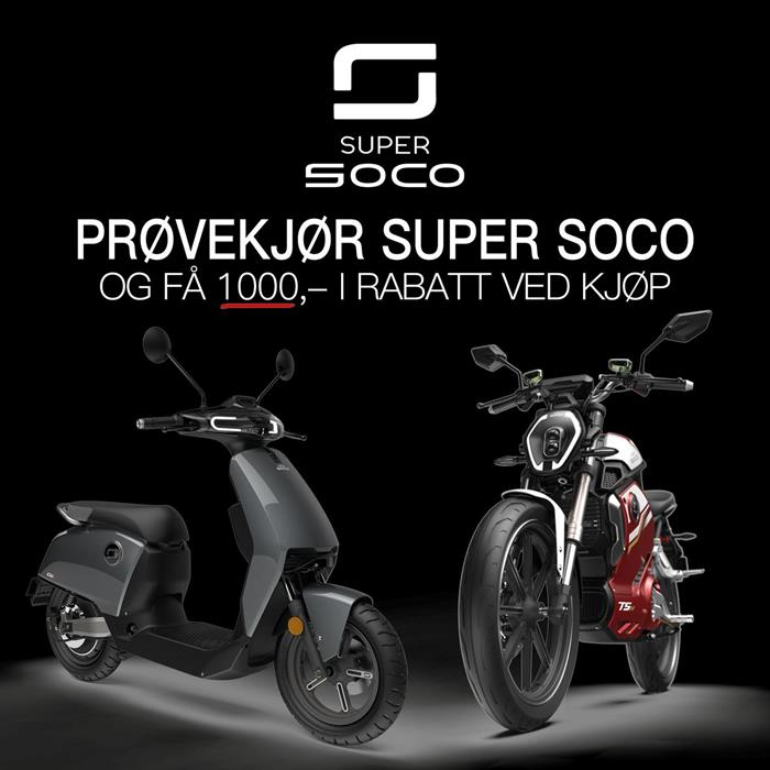 Kampanjedager på Super Soco