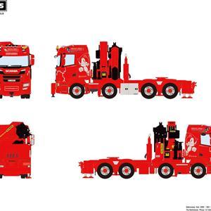 WSI Scania R 8x4/4 m/Palfinger Ørjan Orra Transport (NO) (NY) (FB)