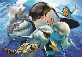 Puslespill Ocean Selfie, 500 brikker