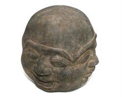 Buddha - Ansikte med fyra uttryck 15cm (4 pack)