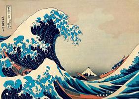 Puslespill Hokusai, The Great Wave off Kanagawa, 1000 brikker