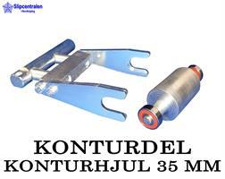KONTURDEL + KONTURHJUL Ø 35 MM