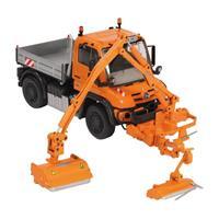 NZG MB Unimog U400 MKM700 Mower