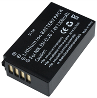 Nikon EN-EL20 Erstatnings batteri