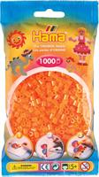 Hama perler Midi, Neon Orange 207-38 1000stk