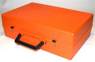 Koffert T70 med skillerom orange 400x270x113mm