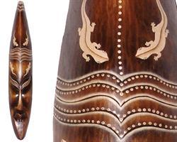 Mask - Trä gecko 100cm (2 pack)
