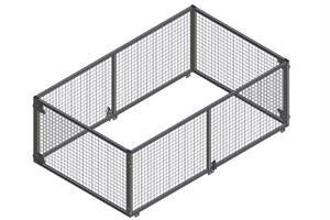 Netting grind 250x150x90, ny type
