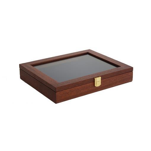Presentationslåda, liten (ljus brun)