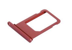 iPhone 7 Sim-kort skuff - Rød