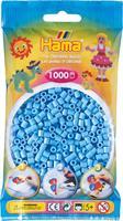 Hama perler Midi, Pastell Blå 207-46 1000stk