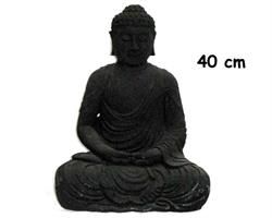 Buddha - Svart 40cm (2 pack)