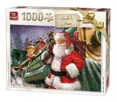 Puslespill Santas Train 1000 brikker
