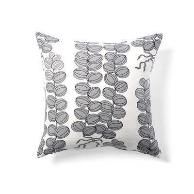 Kuddfodral grå Celotocaulis 50x50 dubbelsidig