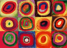Puslespill Kandinsky, Color Study, 1000 brikker