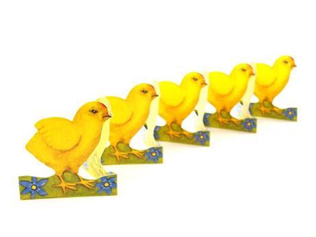 Kyckling med blåsippor, pappersrad