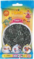 Hama perler Midi, Mørk Grønn 207-28 1000stk