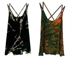 Linne - Tie dye crossback mix (5 pack)