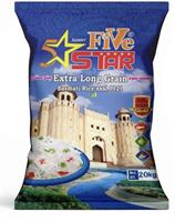 5 Star Extra Long Grain Basmati Rice Sun. 10x2kg