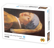 Mini Puzzle, The Girl with a Pearl Earring 42*29,7cm 1000 brikker