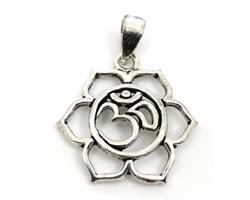 925 Silver - Lotus & OM (5 pack)