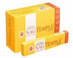 Golden Nag - Temple  (12 pack)