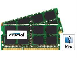 Crucial DDR3L 1600MHz 8GB SODIMM for Mac (2x4Gb)