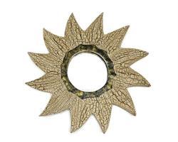 Spegel - Antik sol 25cm (6 pack)
