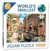 Mini Puzzle, Venice Canals 42*29cm 1000 brikker