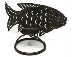 Smide - Ljusstake fisk I (12 pack)