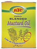 Ktc Mustard Oil (Blend) 4Liter
