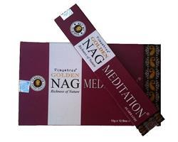Golden Nag - Meditation (12 pack)