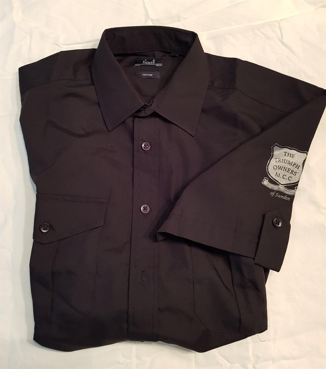 Skjorta, svart, Small