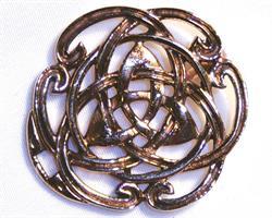 Halsband - Mässing Keltisk knut (3 pack)