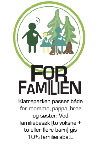 Familierabatt Oslo klatrepark