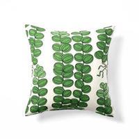 Kuddfodral grön Celotocaulis 40x40 Enkelsidig