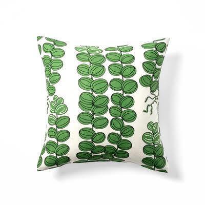 Kuddfodral grön Celotocaulis 50x50 Dubbelsidig