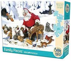 Puslespill Santa Claus and Friends, 350 brikker
