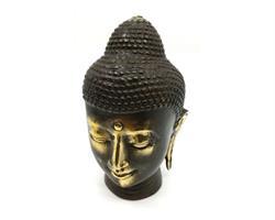 Brons - Buddha ansikte 12cm  (2 pack)