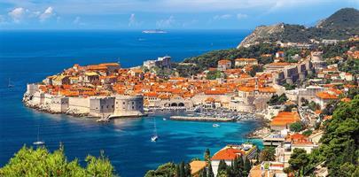 Puslespill Panorama Dubrovnik, 4000 brikker