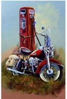 Diamond Painting, Motorsykkel 39*49,5cm FPR