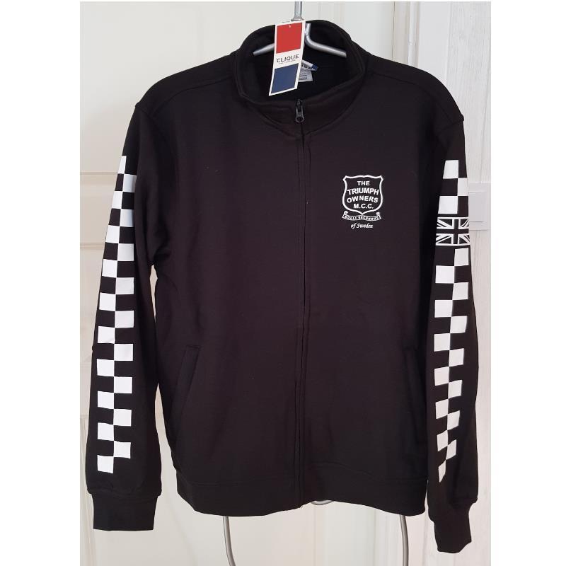 Sweatshirt, svart