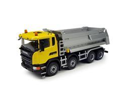 Tekno Scania G450 8x4/4 tipper yellow