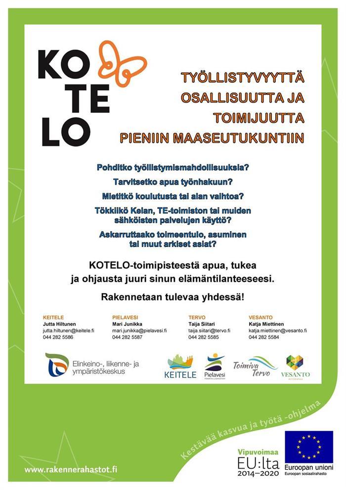 Tervon KOTELO-toimipiste aukeaa 26.2.2020